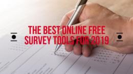Online Survey Tools